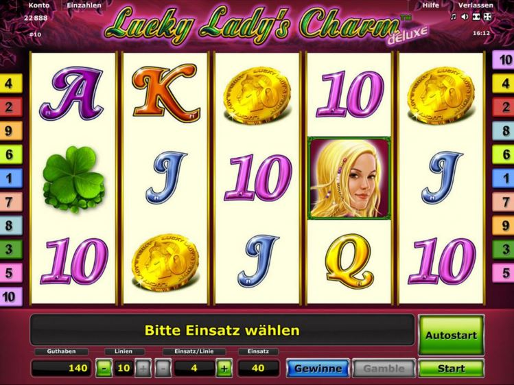 online casino game lucky lady charme