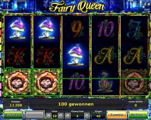 novoline fairy queen